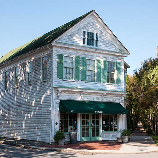 Burbage's Grocery, Charleston