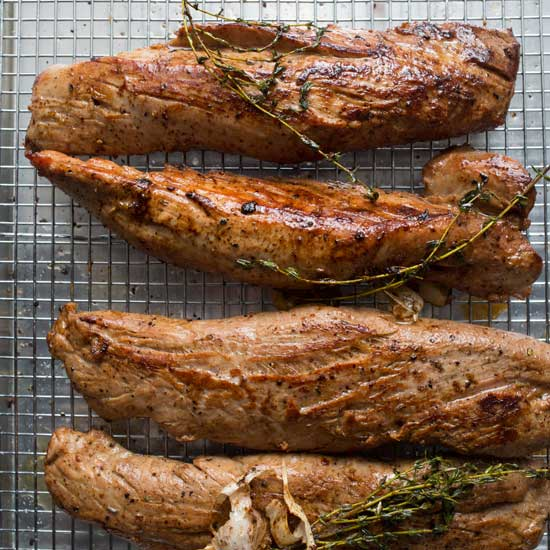 Maple-Brined Pork Tenderloin