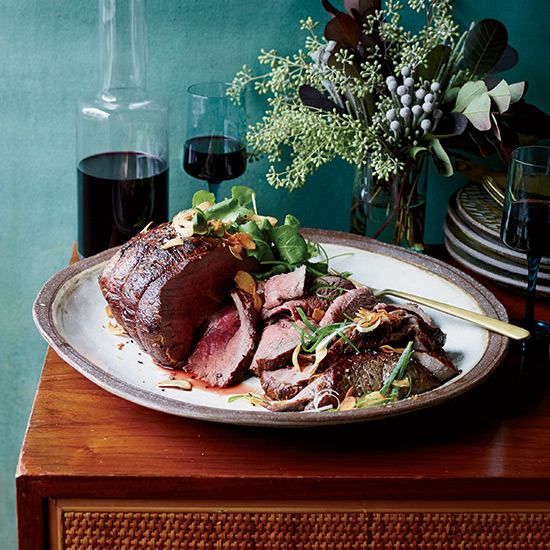 Dry-Aged Roast Beef with Fresh Hot Sauce