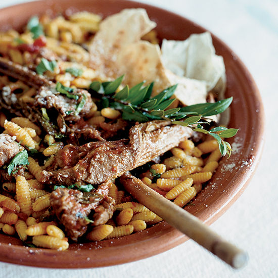 Lamb Chops and Ragù with Malloreddus