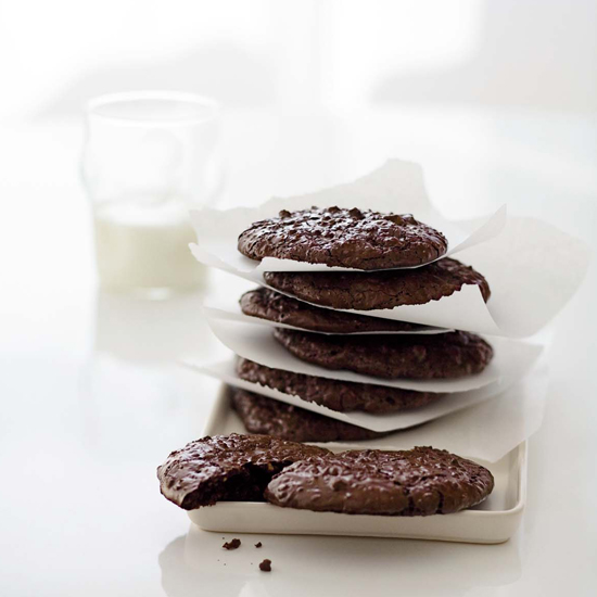 "<h1 itemprop=""name"">Fudgy Chocolate-Walnut Cookies</h1>"