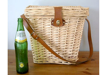 Style: Woven Picnic Basket by Hello Victory