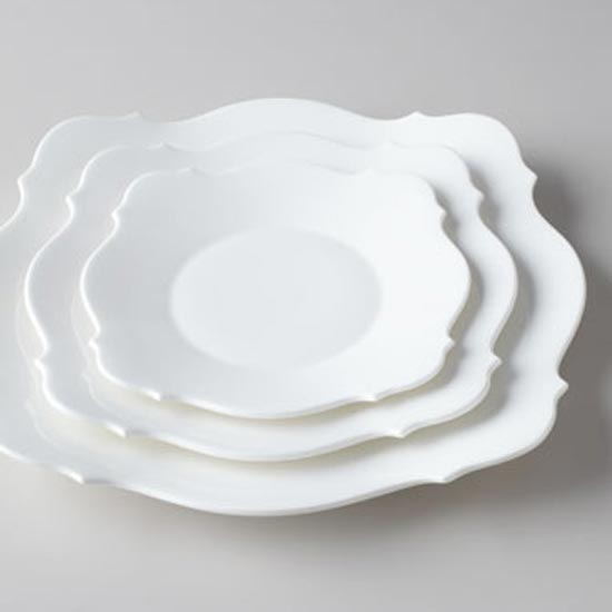 Baroque White Dinnerware
