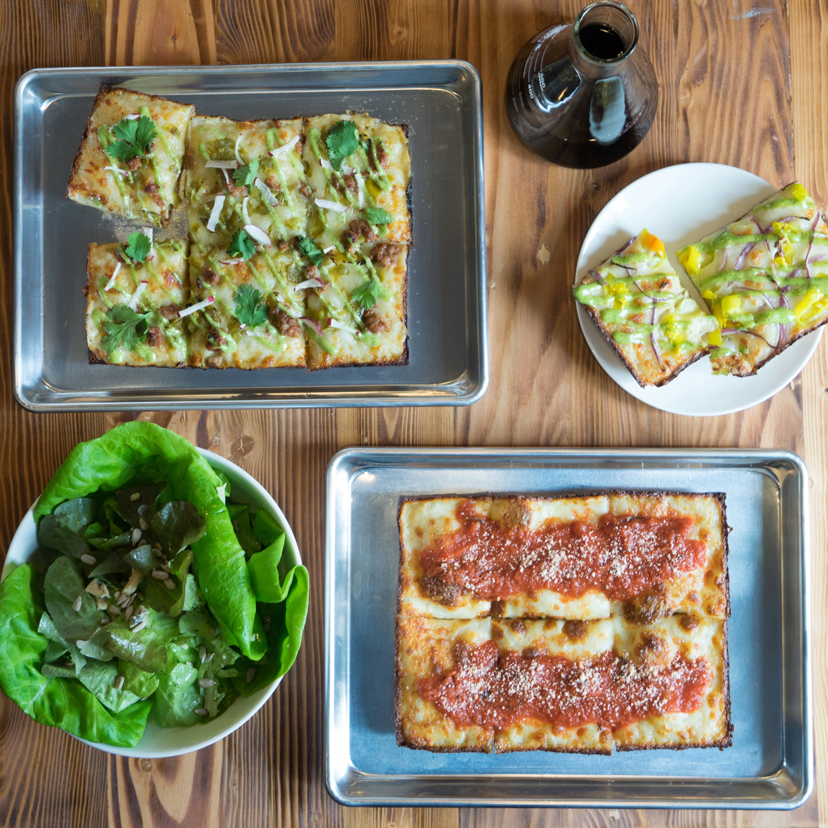 Emmy Squared Square Pizza