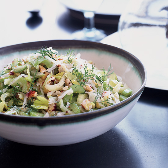 Celery, Pear and Hazelnut Salad
