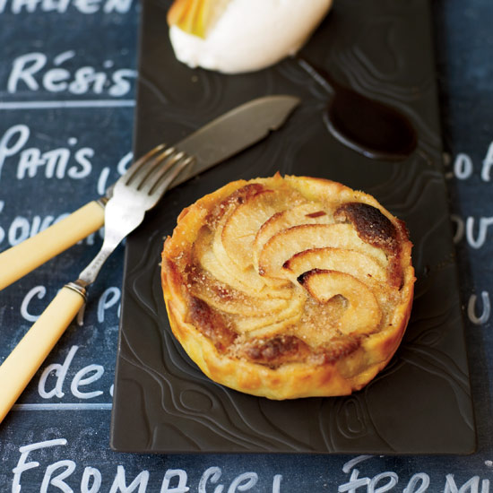 Apple Tart with Almond Cream