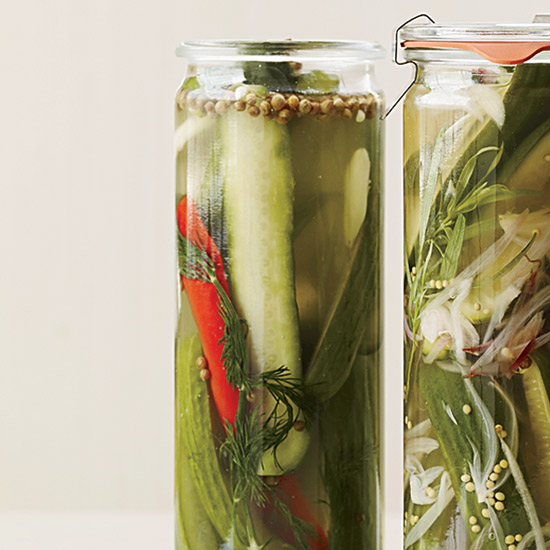Perfecting Quick Pickles
