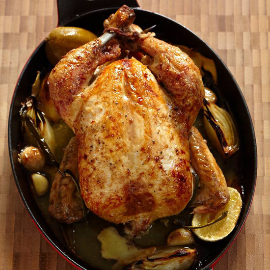 Ginger-Roasted Chicken