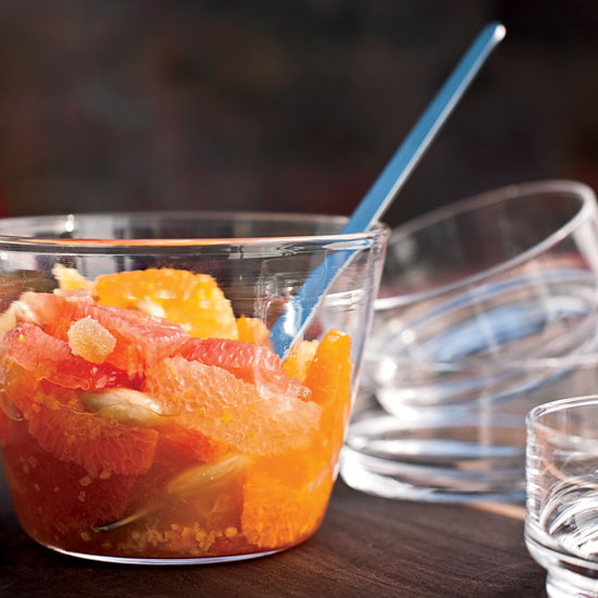 <p>Citrus Salad with Candied Ginger</p>