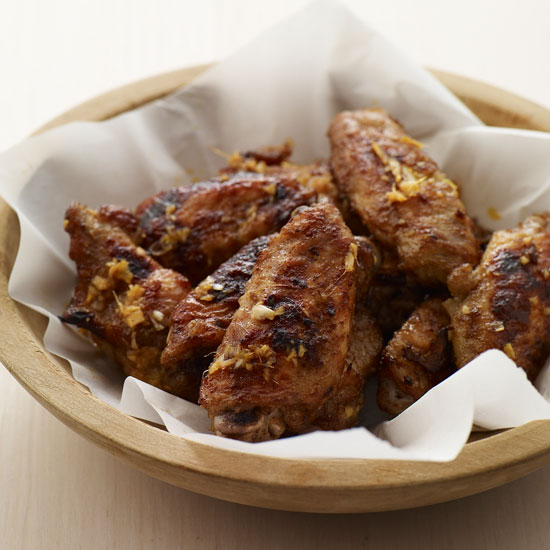 Ginger-Honey Hot Wings