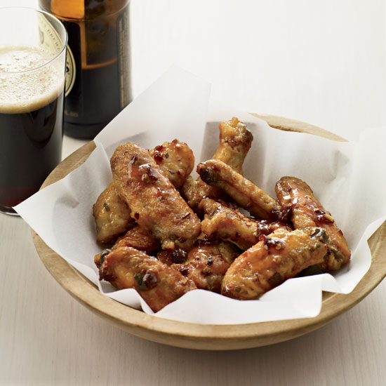 Maple-Chipotle Hot Wings