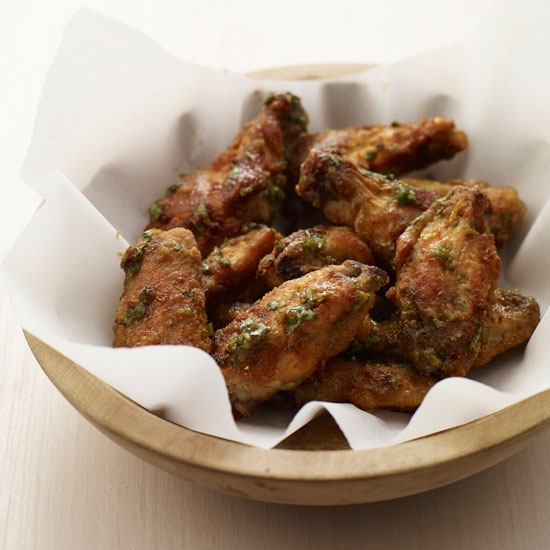 Thai Green Curry Chicken Wings