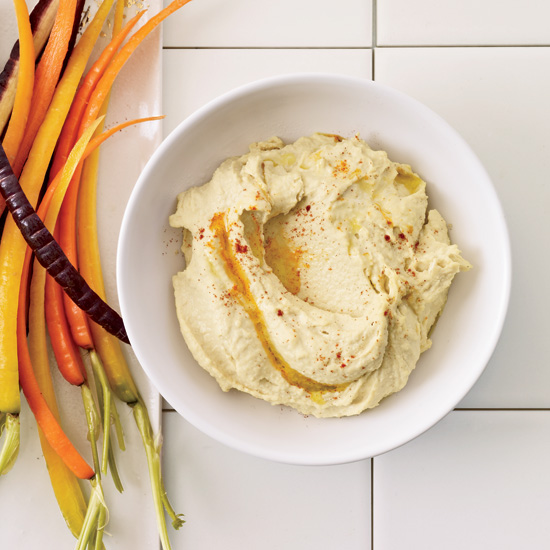 Easy Hummus with Tahini