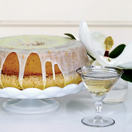 Brunch Recipes: Lemon-and-Orange-Glazed Pound Cake