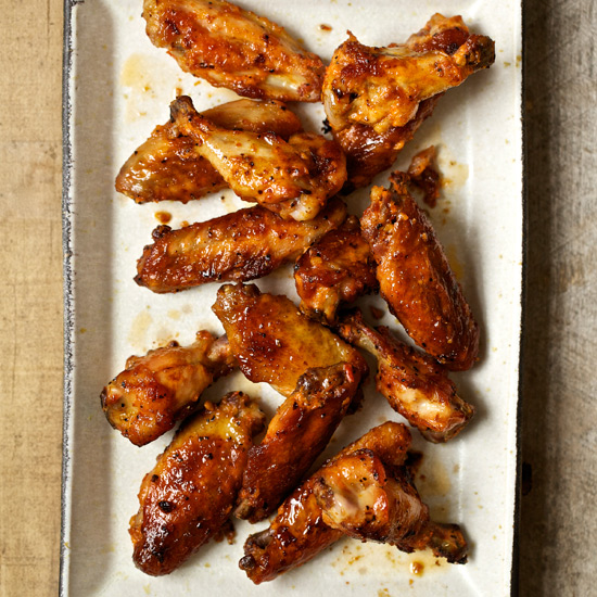 Tomato-Glazed Chicken Wings
