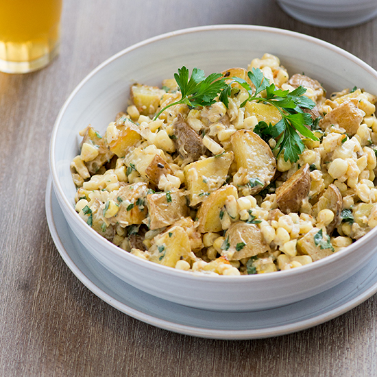 Roasted Corn & Potato Salad