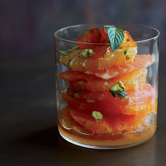 Layered Citrus Salad