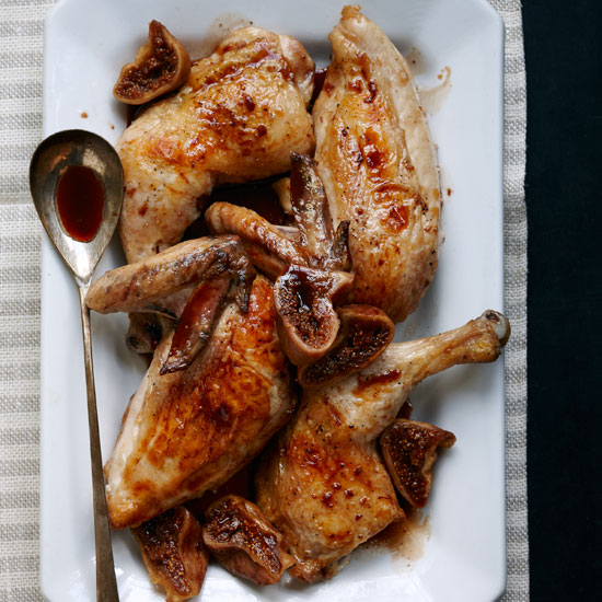 Chicken with Port and Figs