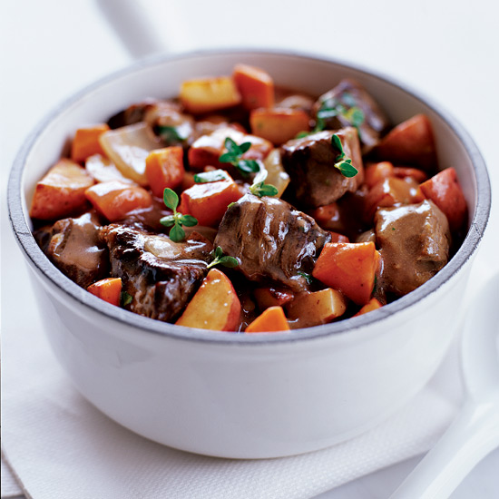 Beef Rib Eye and Vegetable Stew