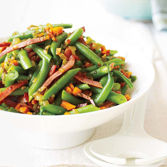 Green Beans with Soffritto and Country Ham