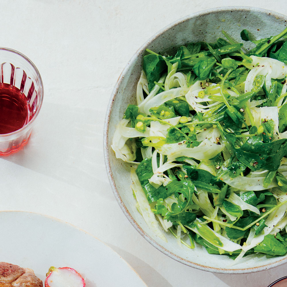 Fennel and Arugula Salad with Meyer Lemon Vinaigrette