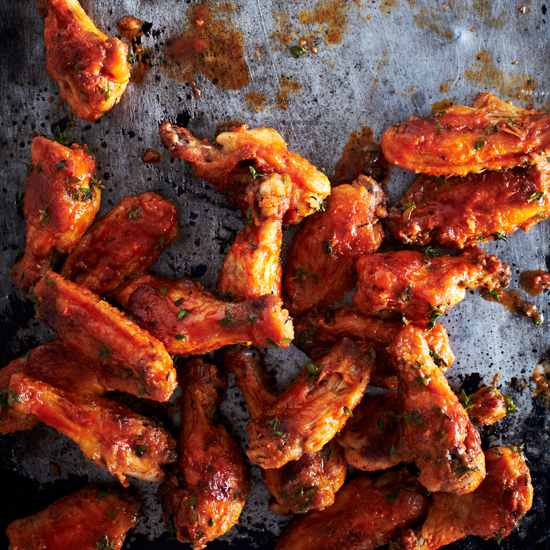 Jamaican Jerk Hot Wings