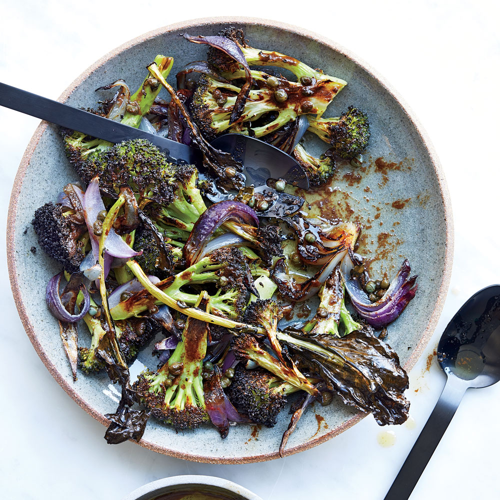 Roasted Broccoli with Brown Butter Fish Sauce