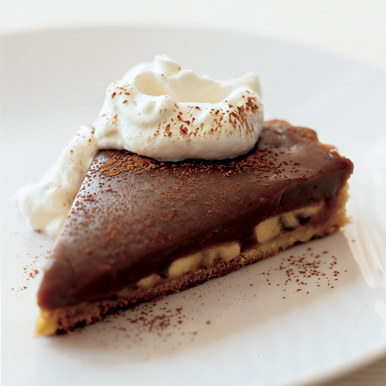 Milk Chocolate Banana Pie