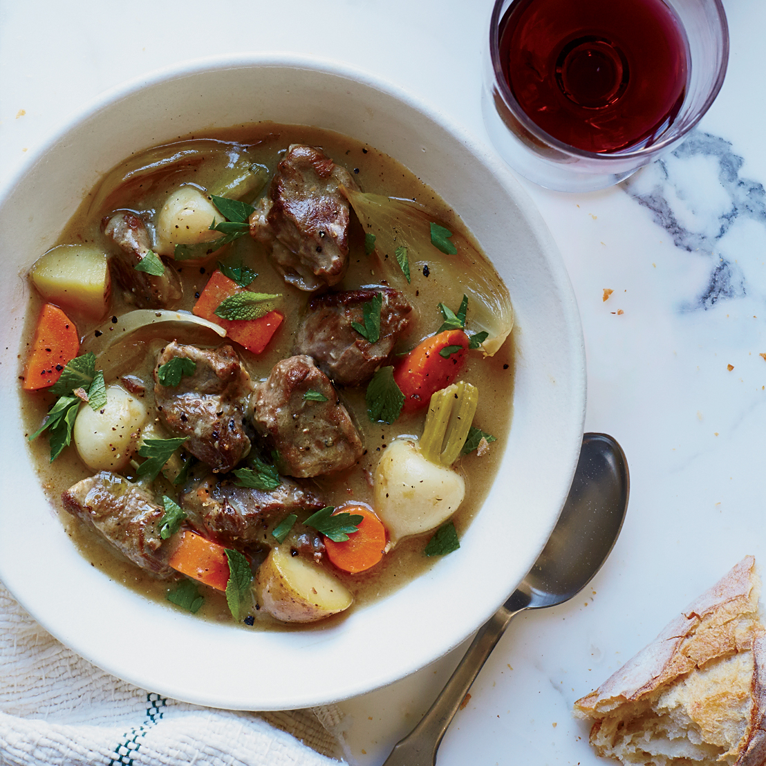 Irish Lamb and Turnip Stew