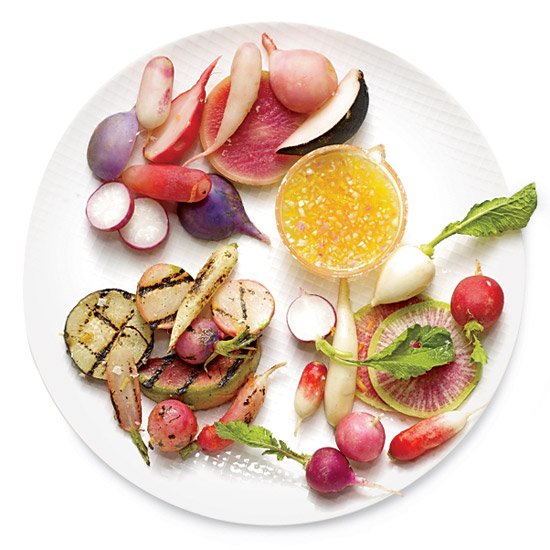 Radishes Three Ways