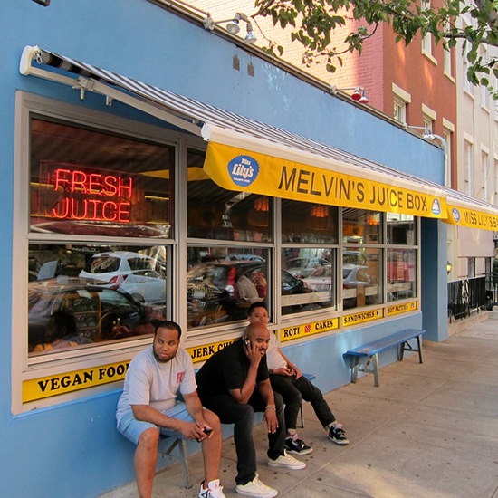 New York City: Melvin's Juice Box