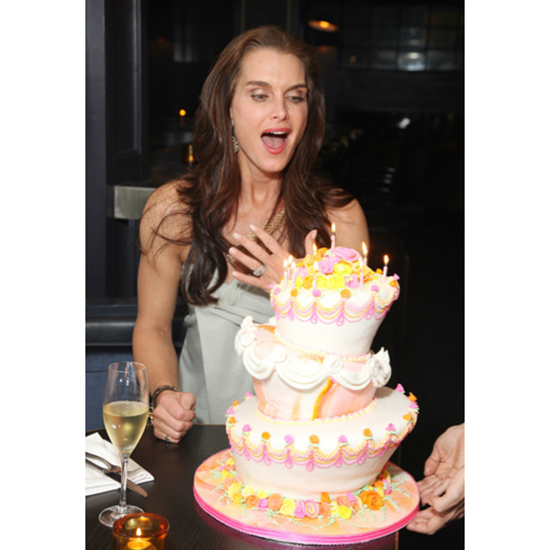 Brooke Shields's Birthday Cake