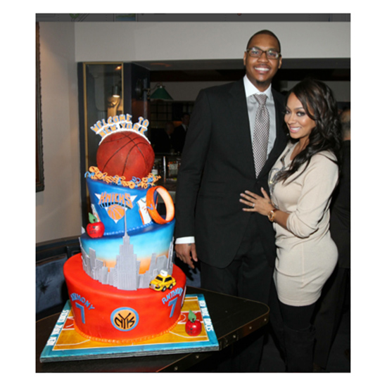 Carmelo Anthony's Knicks Cake