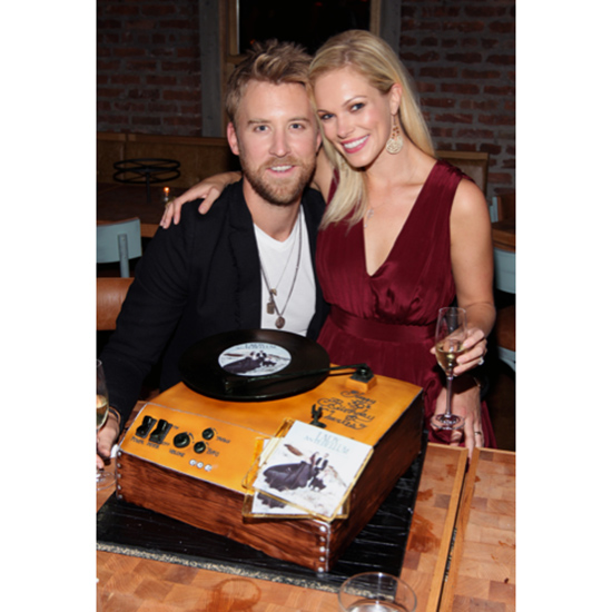 Charles Kelley's Record Player Cake