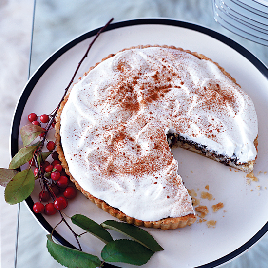 Prune Custard Tart