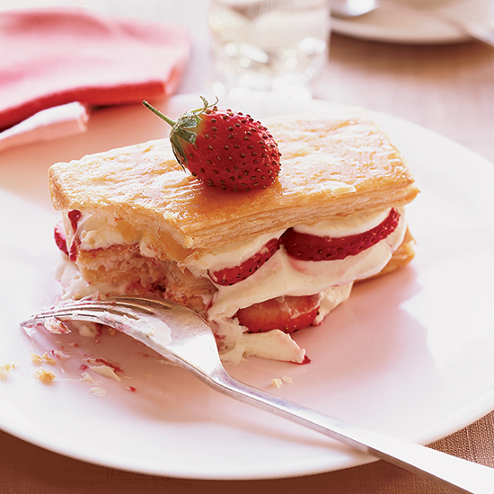 Mara des Bois Strawberry Napoleons
