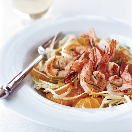 Shrimp with Fresh Citrus Sauce