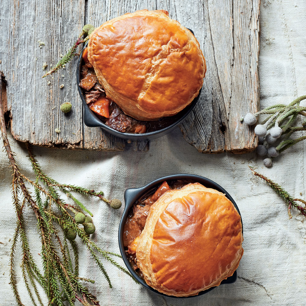 Braised Beef Pot Pie
