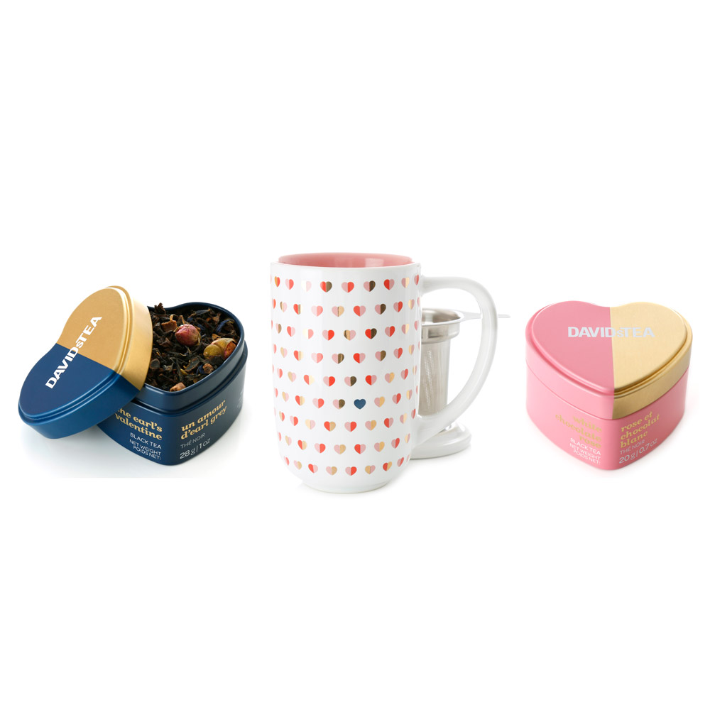 DAVIDsTEA Valentine's Day Tea