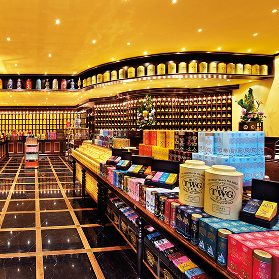 TWG Tea Salon & Boutique; Singapore