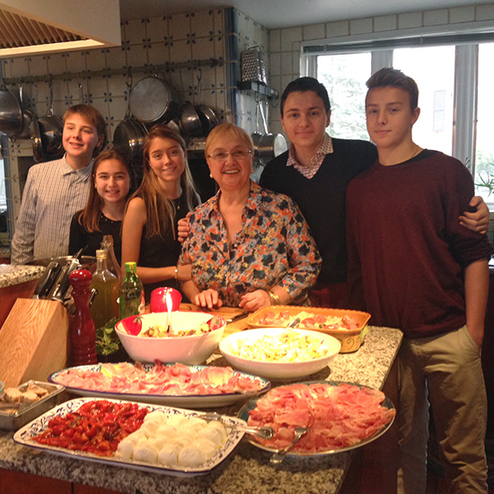 Lidia Bastianich's Favorite Family Meals