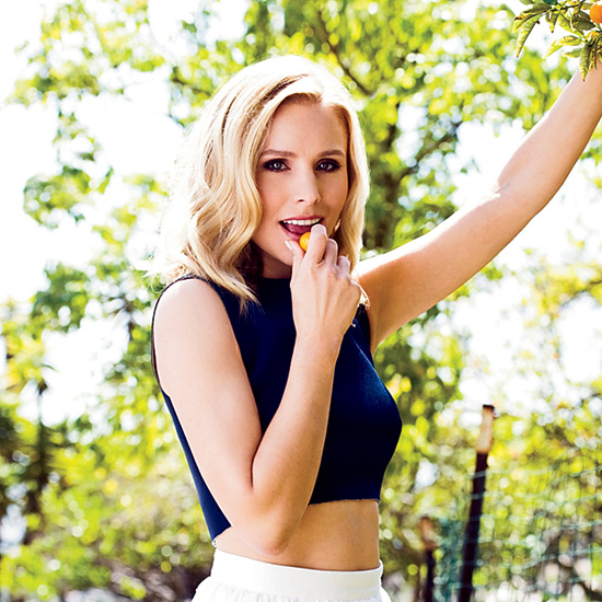 Kristen Bell Only Cooks Chickens That Have Had a Good Massage, Loves Spicy Pizza