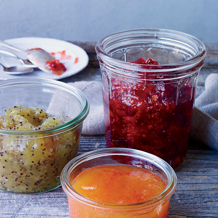 Cranberry-Clementine Preserves