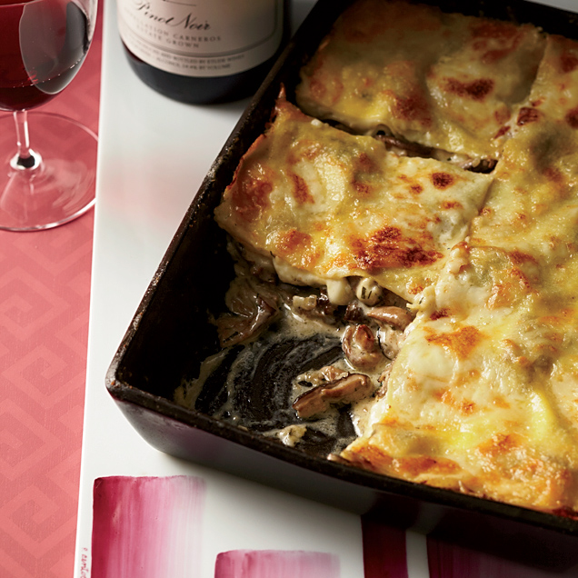 Wild Mushroom Lasagna is an Alternative to Thanksgiving Turkey