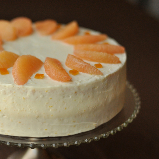 The Brown Derby Grapefruit Cake