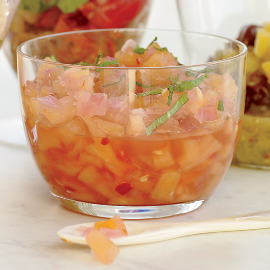 Sweet-and-Sour Pineapple Chutney