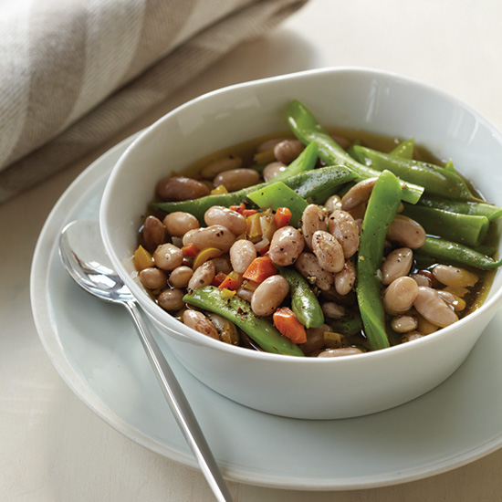 Fresh Shell Bean Stew