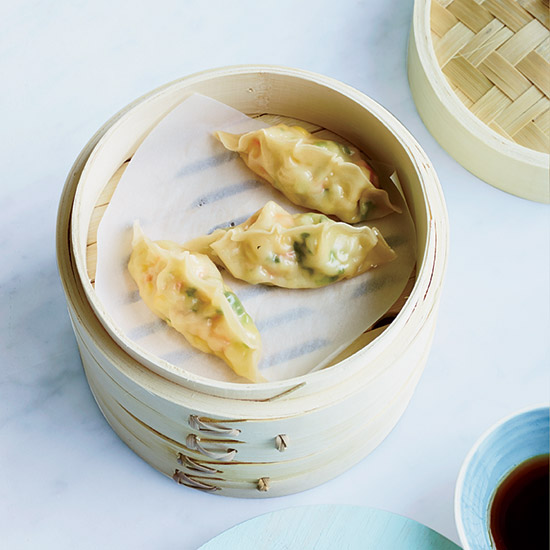 Corn-Shrimp Dumplings