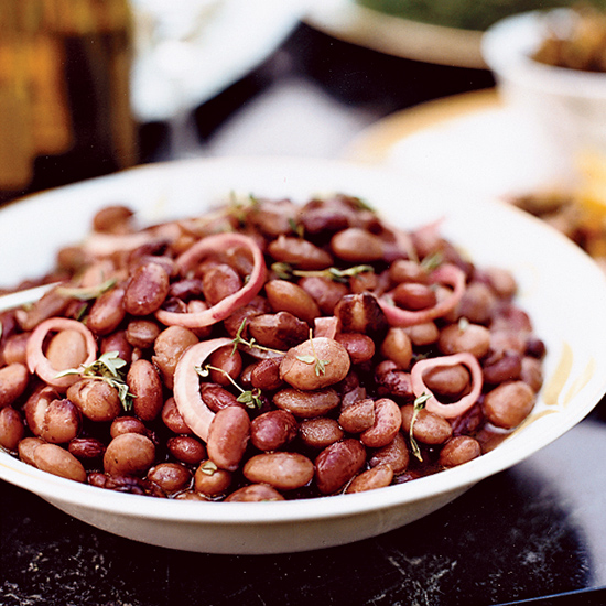 Cranberry Bean and Mixed-Herb Salad