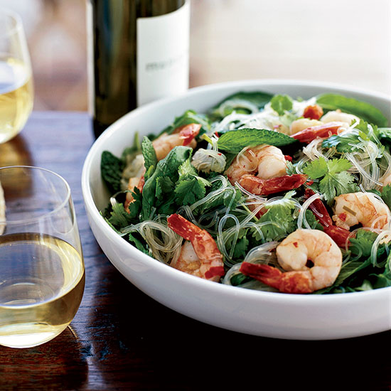 Spicy Shrimp and Cellophane-Noodle Salad